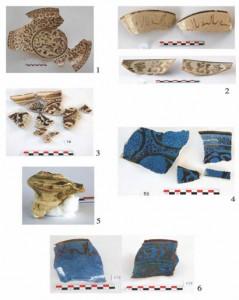 Привозная иранская люстровая керамика из средневекового города Шамкир